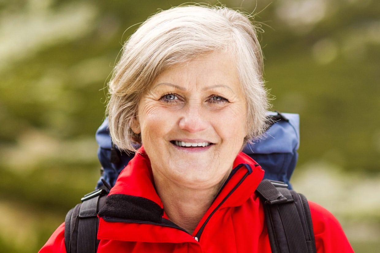 Elsie Green – a retired tourist. © Shutterstock.com/Halfpoint