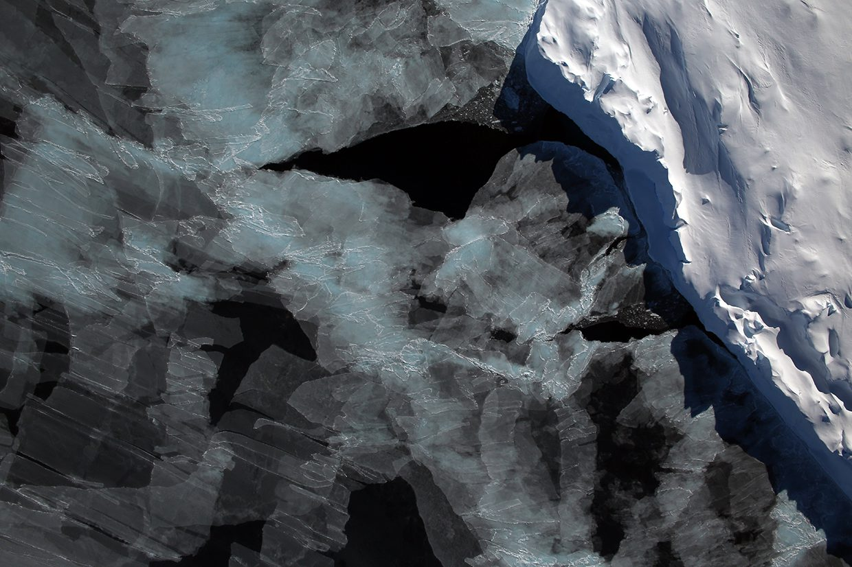 Sea Ice in the Bellinghausen Sea Edited NASA image