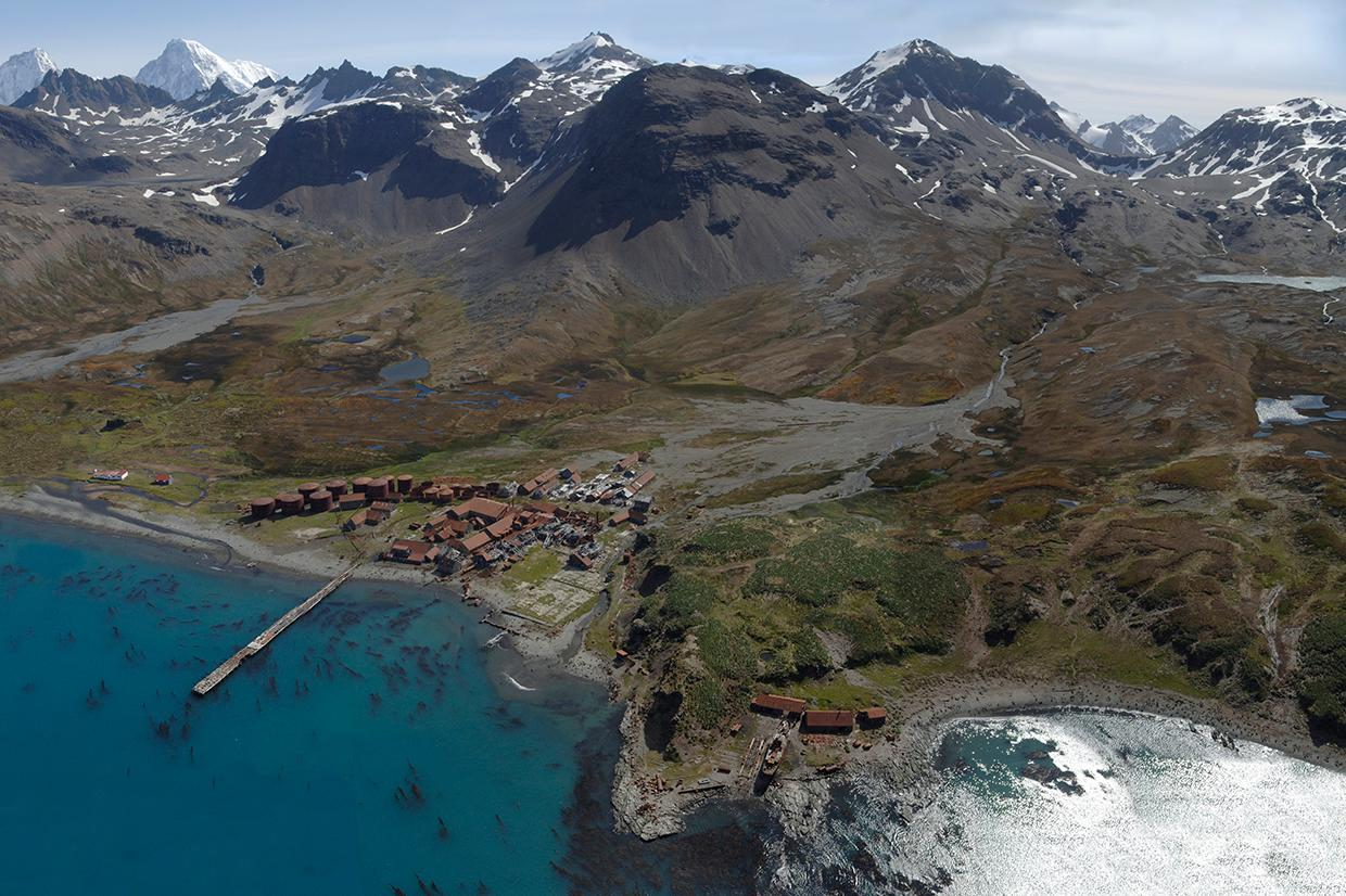 The abandoned Husvik whaling station on South Georgia Keywords: Husvik | South Georgia