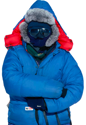 Scientist in Antarctica