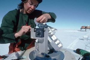Scientist, Antarctica UVIZ technology instrumentation, Ozone