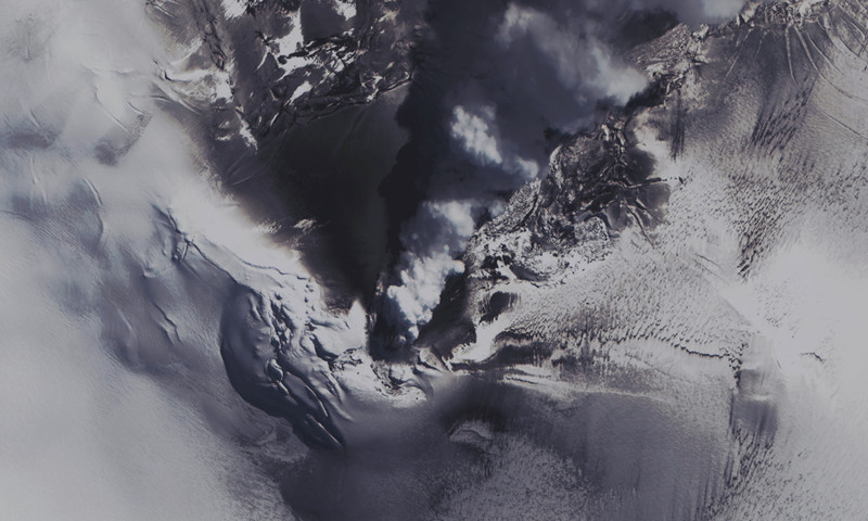 Volcano on Montagu Island