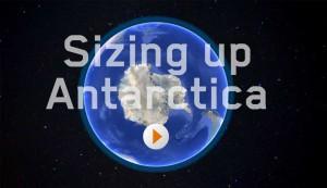 Sizing up Antarctica - activity screenshot