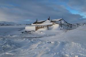 Robert Falcon Scott's Terra Nova Hut, Cape Evans Antarctica, September 2013