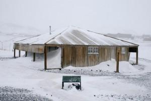 Robert Falcon Scott's Hut, Hut Point