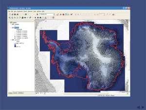 Mapping and wind speeds powerpoint screenshot