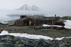Hut on Stonington Island, Marguerite Bay, western Graham Land