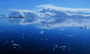 stunning view of antarctica