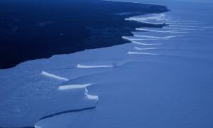 Edge of the Brunt Ice shelf, Weddell Sea