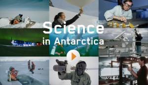 Science in Antarctica - activity screenshot